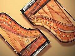 Dos pianos de primera categoría en un piano digital.