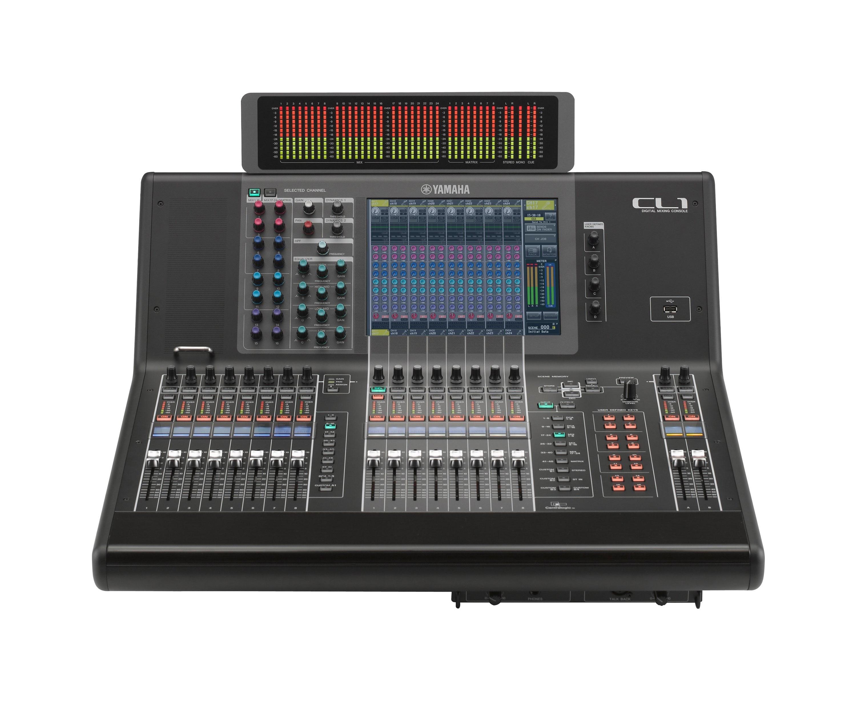 Serie cl descripci n mesas de mezcla sonido for Programa mesa de mezclas
