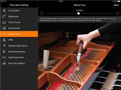 Sonido de piano de cola en tus manos