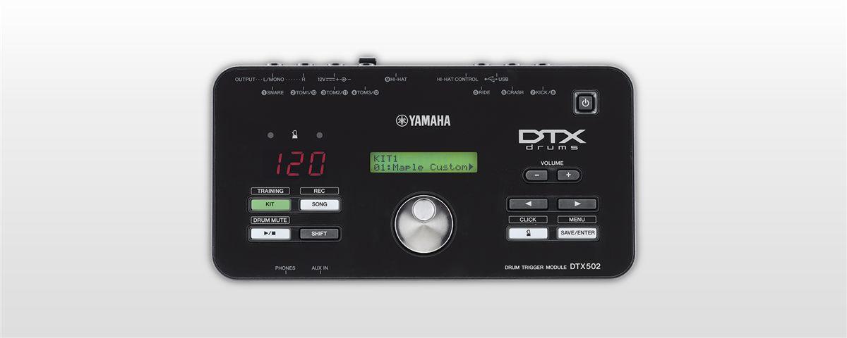 Dtx502 Características Módulos De Batería Electrónica