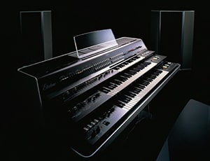 photo:Introduced in 1975, the GX-1 was eight-note polyphonic and had 35 tone generators for sound synthesis. This famous instrument was much loved by owners such as Stevie Wonder and Keith Emmerson.