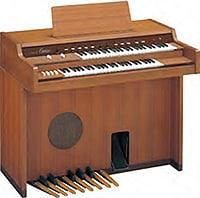 photo:Bautizado «Electone», nuestro D-1 se lanzó al mercado en 1959 como órgano electrónico con un diseño solo de transistores.