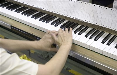 Checking the feel by pressing multiple keys simultaneously
