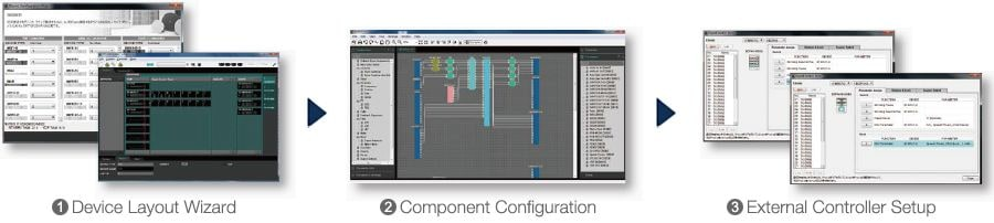 Una interfaz gráfica intuitiva para diseñar sistemas de sonido